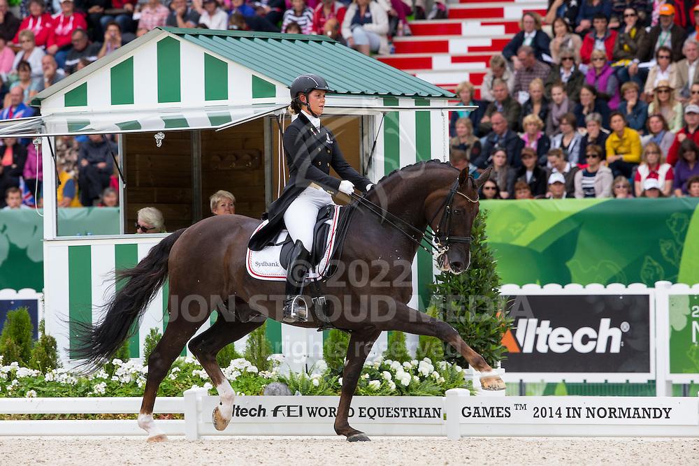 Anna Kasprzak, (DEN), Donnperignon - Grand Prix Special Dressage - Alltech FEI World Equestrian Games&trade; 2014 - Normandy, France.<br /> &copy; Hippo Foto Team - Leanjo de Koster<br /> 25/06/14