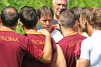 RUDI GARCIA and AS ROMA PLAYERS <br /> Riscone (Brunico) 15.7.2013 <br /> Football Calcio 2013/2014 Serie A<br /> Ritiro precampionato AS Roma <br /> As Roma pre season training<br /> Foto Gino Mancini / Insidefoto