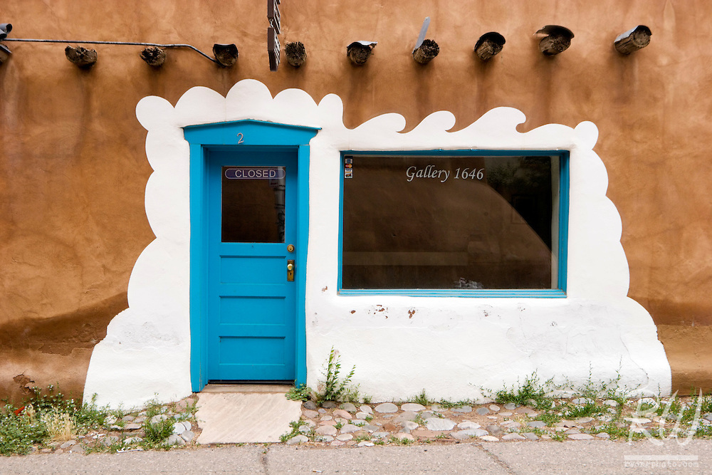 """""""The Oldest House in America"""" Now Occupied by Gallery 1646, Santa Fe, New Mexico"""