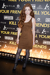 NICOLA ROBERTS at the Al Films and Warner Music Screening of Kill Your Friends held at the Curzon Soho Cinema, 99 Shaftesbury Avenue, London on 27th October 2015.