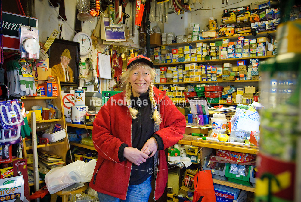 Glynis Elgey has run the hardware shop on York Road for 25 years.