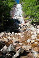 Arethusa Falls in New Hampshire. This is in the White Mountains National forest region of NH.