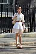 © Licensed to London News Pictures. 07/05/2013. Westminster, UK TV presenter Fiona Bruce on Downing Street today 7th May 2013. Photo credit : Stephen Simpson/LNP