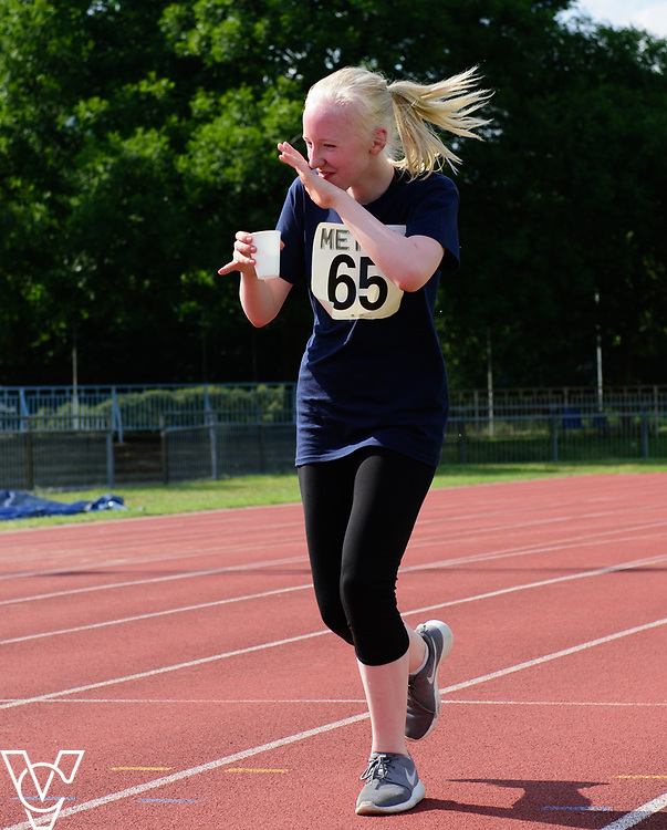 Metro Blind Sport's 2017 Athletics Open held at Mile End Stadium.  5000m.  Emma Quigley<br /> <br /> Picture: Chris Vaughan Photography for Metro Blind Sport<br /> Date: June 17, 2017