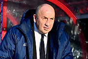 Accrington Stanley manager John Coleman before the EFL Sky Bet League 2 match between Exeter City and Accrington Stanley at St James' Park, Exeter, England on 25 November 2017. Photo by Graham Hunt.