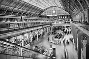 Musical chairs, St Pancras Station, #London. #urban #landscape #longexposure