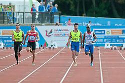 PORROS Xavier, MAKUNDA Gauthier Tresor, 2014 IPC European Athletics Championships, Swansea, Wales, United Kingdom