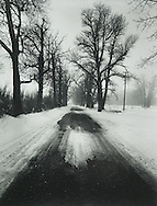 Mono County Road, Winter