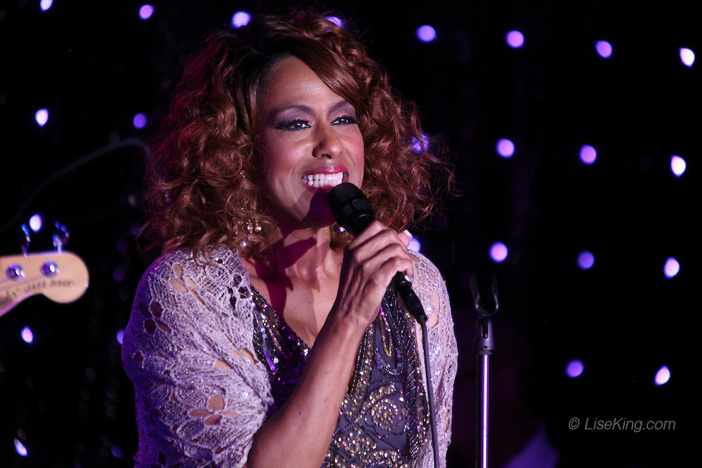Jennifer Holliday performs at the Crown & Anchor, Provincetown, MA, July 5, 2015.