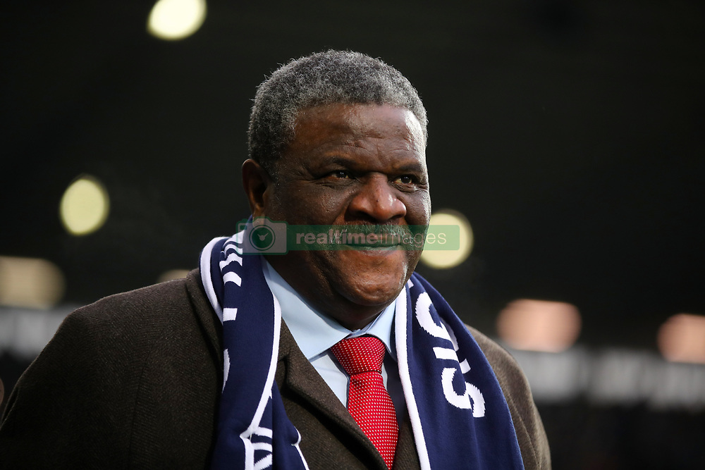 Retired footballer Bob Hazell during a tribute to Cyrille Regis ahead of the Premier League match at The Hawthorns, West Bromwich.