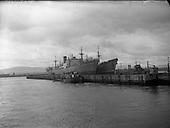 1958 -  Irish Pine and Irish Cedar Ships at Alexandra Basin