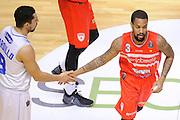 Maynor Eric, Marco Cardillo<br /> Enel Brindisi, Openjobmetis Varese<br /> Lega Basket Serie A 2016/2017<br /> Brindisi, 26/02//2017<br /> Foto Ciamillo-Castoria
