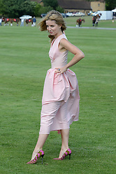 ANNABELLE WALLIS at the Audi Polo Challenge 2013 at Coworth Park Polo Club, Berkshire on 3rd August 2013.