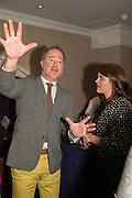 OWEN TEALE; FFION EMYR, An evening of entertainment at St James Court in support of the redevelopment of St Fagans National History Museum. In the spirit of the court of Llywelyn the Great . St. James Court Hotel. London. 17 September 2015<br />  <br /> Noson o adloniant yn St James Court i gefnogi ail-ddatblygiad Sain Ffagan Amgueddfa Werin Cymru