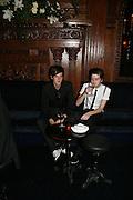 Matthew Greer and Sean Blake, Tatler's Little Black Book party. Tramp. Jermyn St.  London. 7 November 2007. -DO NOT ARCHIVE-© Copyright Photograph by Dafydd Jones. 248 Clapham Rd. London SW9 0PZ. Tel 0207 820 0771. www.dafjones.com.