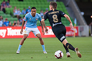 MELBOURNE, VIC - JANUARY 22: Melbourne City midfielder Kearyn Baccus (15) watches on at the Hyundai A-League Round 15 soccer match between Melbourne City FC and Western Sydney Wanderers at AAMI Park in VIC, Australia 22 January 2019. Image by (Speed Media/Icon Sportswire)