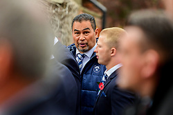 Pat Lam in attendance at the Remembrance Service at the Memorial Stadium - Ryan Hiscott/JMP - 09/11/2018 - FOOTBALL - Memorial Stadium - Bristol, England - Memorial Stadium Remembrance Service