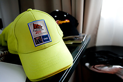 Hat of Eurobasket 2011 in Lithuania, in a Andel's Hotel during Eurobasket 2009, on September 15, 2009 in  Lodz, Poland.  (Photo by Vid Ponikvar / Sportida)