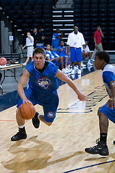 PG Rotnei Clarke (Claremore, OK / Verdigris).  The National Basketball Players Association held a camp for the Top 100 high school basketball prospects at the John Paul Jones Arena at the University of Virginia in Charlottesville, VA from June 20, 2007 through June 23, 2007.