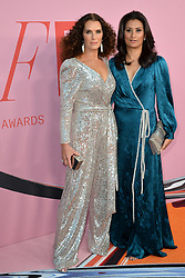 June 4, 2019 - New York, NY, USA - June 3, 2019  New York City..Brooke Shields and Babi Ahluwalia attending CFDA Fashion Awards arrivals at the Brooklyn Museum on June 3, 2019 in New York City. (Credit Image: © Kristin Callahan/Ace Pictures via ZUMA Press)