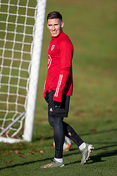 CARDIFF, WALES - Monday, November 18, 2019: Wales' Harry Wilson during a training session at the Vale Resort ahead of the final UEFA Euro 2020 Qualifying Group E match against Hungary. (Pic by David Rawcliffe/Propaganda)