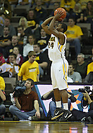 December 07 2010: Iowa Hawkeyes guard Bryce Cartwright (24) puts up a shot during the first half of their NCAA basketball game at Carver-Hawkeye Arena in Iowa City, Iowa on December 7, 2010. Iowa defeated Northern Iowa 51-39.