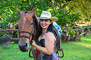 Costa Ricans love horses and their riding traditions.  Their equestrian roots come from the Spanish who brought the horses with them to the Americas in the 16th century.