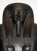 Egypt, 26th Dynasty, Sarcophagus-lid of the Vizier Sisebek, c. 600 BC