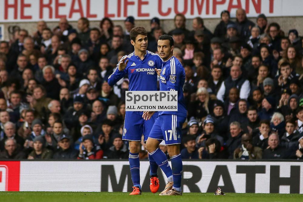 PEDRO, Eden Hazard During Tottenham Hotspur vs Chelsea on Sunday the 29th November 2015.