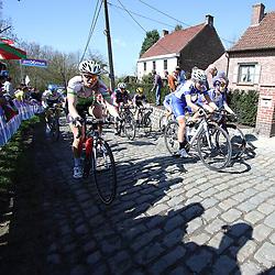 03-04-2016: Wielrennen: Ronde van Vlaanderen vrouwen: Oudenaarde  <br />OUDENAARDE (BEL) cycling  The sixth race in the UCI Womensworldtour is the ronde van Vlaanderen. A race over the famous Flemish climbs. Molenberg Eileen Roe