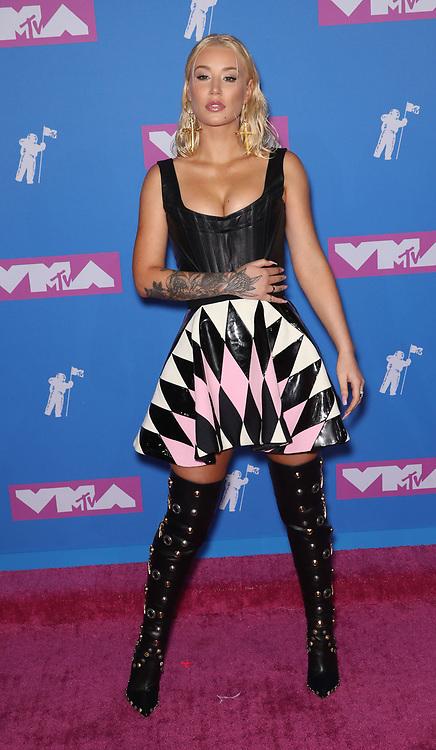 August 21, 2018 - New York City, New York, USA - 8/20/18.Iggy Azalea at the 2018 MTV Video Music Awards held at Radio City Music Hall in New York City..(NYC) (Credit Image: © Starmax/Newscom via ZUMA Press)