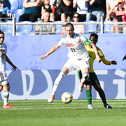 Alexandra Popp of Germany during the Women's World Cup match between Germany and South Africa at Stade de la Mosson on June 17, 2019 in Montpellier, France. (Photo by Alexandre Dimou/Icon Sport)