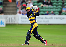Aneurin Donald of Glamorgan in action.  - Mandatory by-line: Alex Davidson/JMP - 24/07/2016 - CRICKET - Cooper Associates County Ground - Taunton, United Kingdom - Somerset v Glamorgan - Royal London One Day