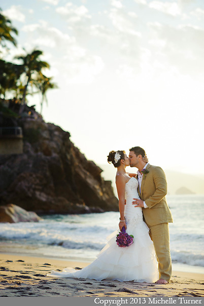 Dreams Puerto Vallarta Wedding.  Images by Puerto Vallarta Wedding Photographer Michelle Turner.