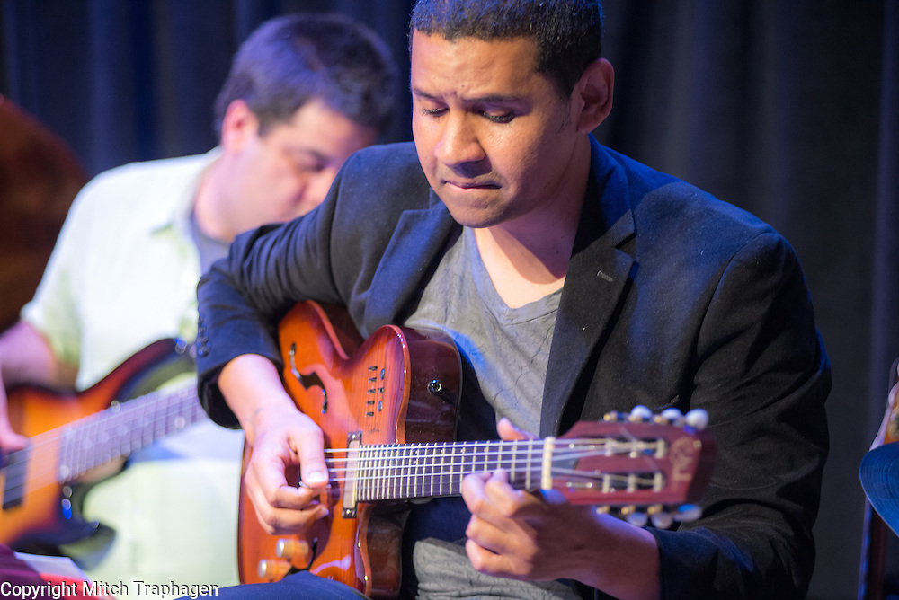 Charles R Hale Productions Spring / Summer 2017 Season Opening at the cell theatre in Manhattan. February 28, 2017. Featuring Charles R. Hale, singer / songwriter Niamh Hyland, guitarist Yuri Juárez and his AfroPeruvian band, and pianist Harriet Stubbs.