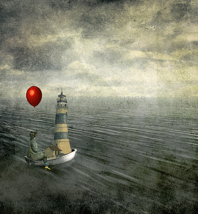CEW87K lost at sea artwork