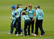 Surrey- Women's Cricket Super League - Surrey vs Yorkshire - 4 Aug 2016