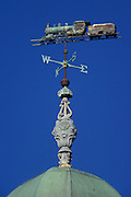 Spring Lake Train Station Weathervane