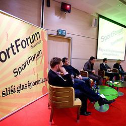 20090423: SportForum Slovenija - Okrogla miza o nogometu