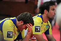 deception Camille LOPEZ / Morgan PARRA  - 16.05.2015 - Clermont / Stade Francais - Finale Top 14<br />