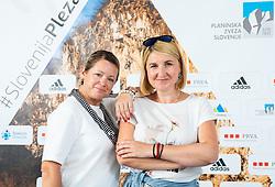 Barbara and Alenka, on June 30, 2020 in Koper / Capodistria, Slovenia. Photo by Vid Ponikvar / Sportida