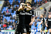 Ezgjan Alioski (10) of Leeds United has his hands on his head after going close to scoring during the EFL Sky Bet Championship match between Reading and Leeds United at the Madejski Stadium, Reading, England on 10 March 2018. Picture by Graham Hunt.