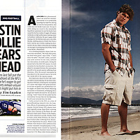 Sports Illustrated's profile on NFL receiver Austin Collie