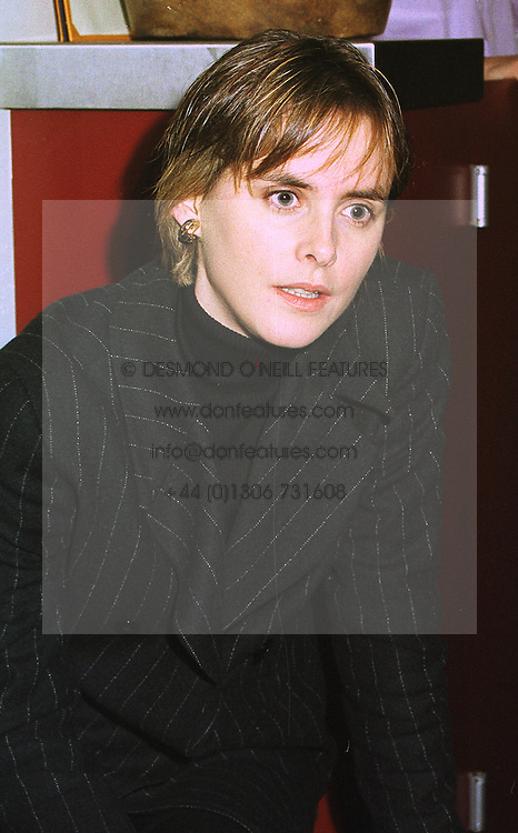 The HON.MRS MONTGOMERY, wife of David Montgomery Chief Executive of Mirror Group Newspapers , at a luncheon in London on 12th January 1999.<br /> MNC 23
