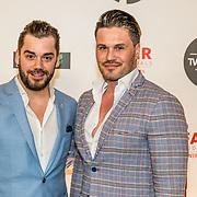 NLD/Amsterdam/20170328 - Uitreiking Tv Beelden 2017, Janice en partner