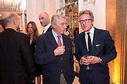 DON MCCULLIN; WILL TURNER, Harper's Bazaar Women Of the Year Awards 2011. Claridges. Brook St. London. 8 November 2011. <br /> <br />  , -DO NOT ARCHIVE-© Copyright Photograph by Dafydd Jones. 248 Clapham Rd. London SW9 0PZ. Tel 0207 820 0771. www.dafjones.com.