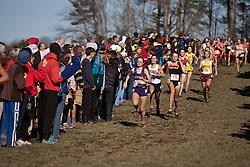 New England High School XC Championship, homestretch, Murray, Carr, Bates, LeBlanc