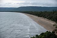 Port Douglas 4 mile beach, from above Port Douglas
