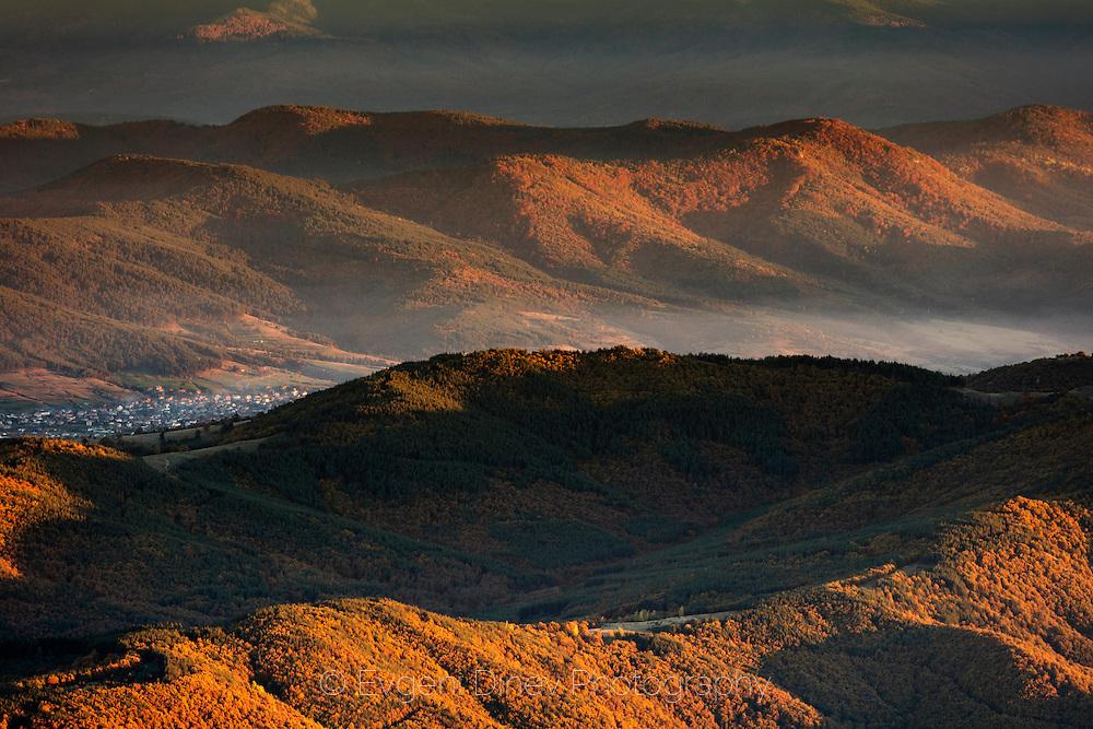 Milevi Skali (Milevi Rocks) in autumn