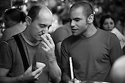 Belo Horizonte_MG, Brazil, 16th June 2009...Paco Perez analiza minunciosamente cada ingrediente de suas receitas, com cuidados mais que especiais....PHOTO: BRUNO MAGALHAES / NITRO